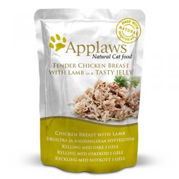 Applaws Cat Adult Piept de Pui si Miel in Aspic Plic 70 g imagine