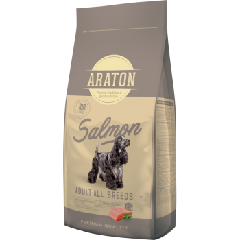 Araton Dog Adult Somon & Orez, 15 Kg