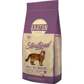 Araton Pisici Sterilizate 15 kg imagine