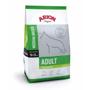 Arion Original Adult Medium cu Pui si Orez, 12 kg imagine