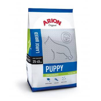 Arion Original Puppy Large Breed cu Pui si Orez 3 kg
