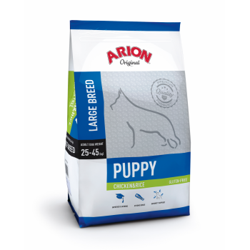 Arion Original Puppy Large Breed cu Pui si Orez, 12 kg