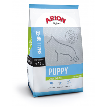 Arion Original Puppy Small Breed cu Pui si Orez, 3 kg