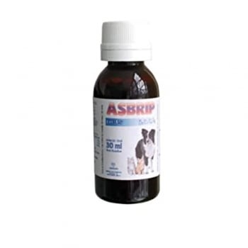 Supliment Expectorant Pentru Caini Si Pisici Asbrip Pets, 30 ml
