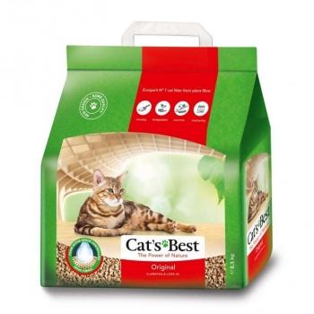 Asternut Igienic Cat's Best Okoplus, 5 litri imagine