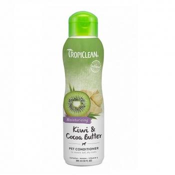 Balsam TropiClean cu Kiwi si Unt de Cacao, 355 ml imagine