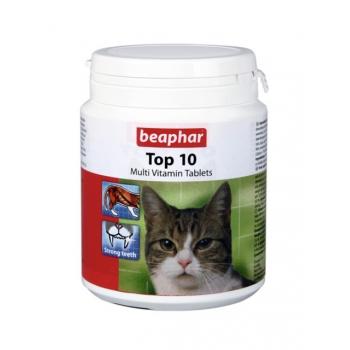 Supliment Beaphar Cat Top 10, 180 tbl