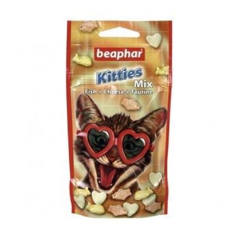 Recompense Pisica Beaphar Kitties Mix, 32.5 g