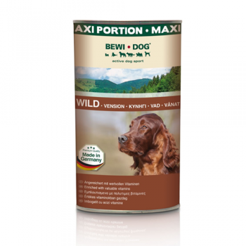 Bewi Dog Carne de Vanat in sos 1.2 kg