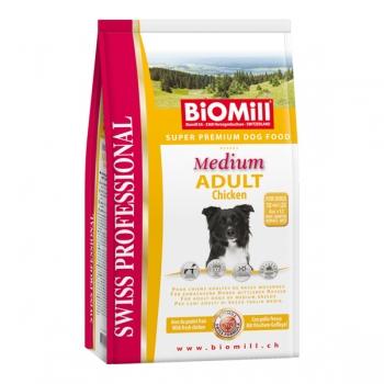 Biomill Swiss Professional Adult Medium Pui si Orez 12 kg