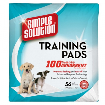 Covorase absorbante Simple SolutionTraining Pads, 56 buc