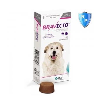 BRAVECTO, comprimate masticabile antiparazitare, câini 40-56kg, 1400 mg, 1 comprimat