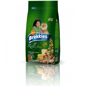 Brekkies Cat Excel Rolls 20 kg