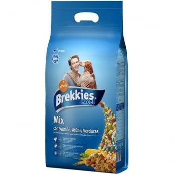 Brekkies Dog Excel Mix Peste 20 kg