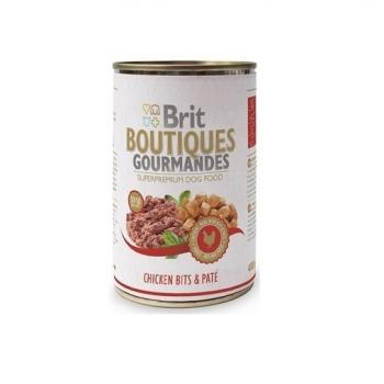 Brit Boutiques Gourmandes Pui, Pate 400 g