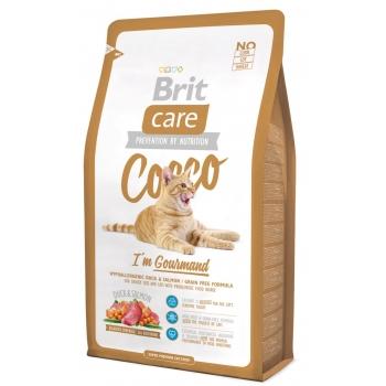 Brit Care Cat Cocco Gourmand cu Rata, 2 kg