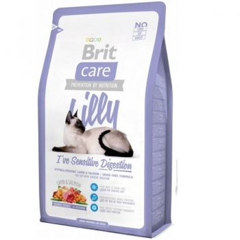 Brit Care Cat Lilly Sensitive Digestion, 2 Kg