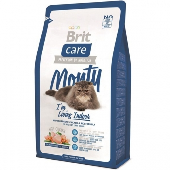 Brit Care Cat Monty Living Indoor 0.4 kg