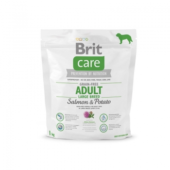 Brit Care Grain-Free Adult Large Breed Somon si Cartofi 1 kg