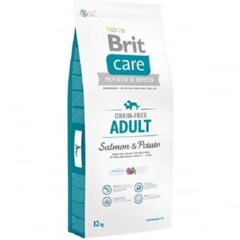 Brit Care Grain-Free Adult Somon si Cartofi, 12 kg