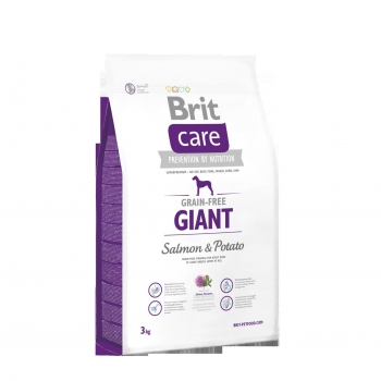 Brit Care Grain-Free Giant Somon si Cartofi, 3 kg