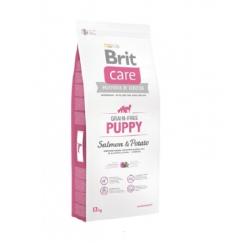Brit Care Grain-Free Puppy Somon si Cartofi, 12kg