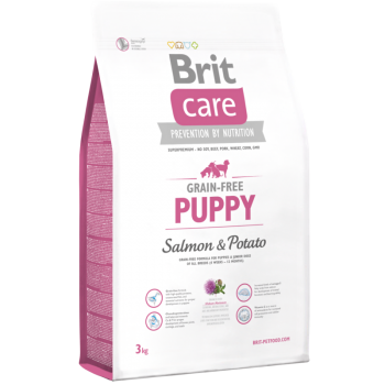 Brit Care Grain-Free Puppy Somon si Cartofi, 3 kg