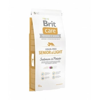 Brit Care Grain Free Senior Somon si Cartofi, 12kg