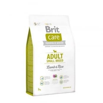 Brit Care Adult Small Breed Miel Si Orez 3 Kg imagine