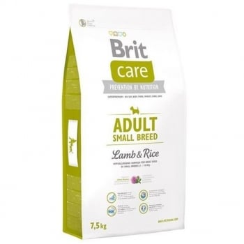 Brit Care Adult Small Breed Miel si Orez 7,5 kg