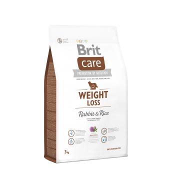 Brit Care Weight Loss cu Iepure si Orez, 3 Kg