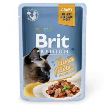 Brit Premium Cat Delicate Ton in Sos, 85 g