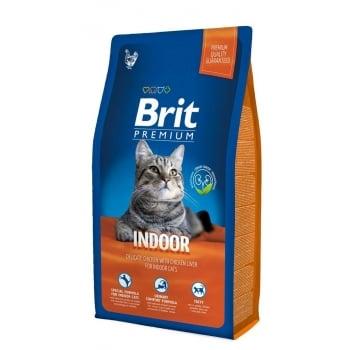 Brit Premium Cat Indoor, 8 kg