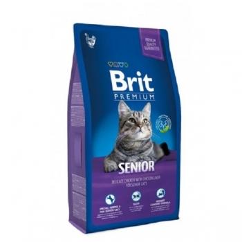 Brit Premium Cat Senior, 8 kg