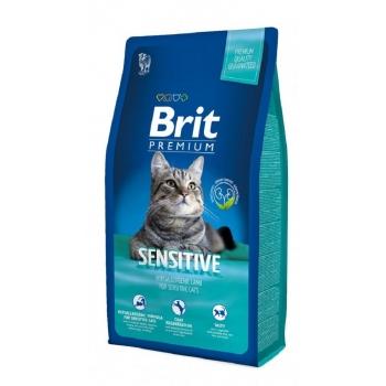 Brit Premium Cat Sensitive cu Miel 8 kg