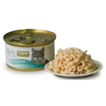 Brit Care Kitten cu Pui 80 g