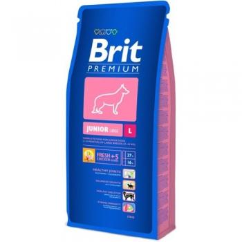 Brit Premium Junior L, 15 kg