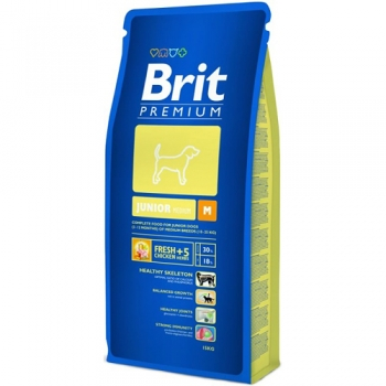 Brit Premium Junior, M 15 kg
