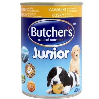 Butcher's Dog Junior cu Pui, 400 g