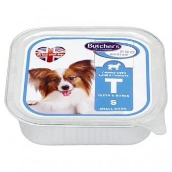 Pachet Butcher's Dog Pro Series Pate, Talie Mica si Mare, Miel si Morcov, 6x150 g