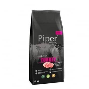 Piper Junior Dog Hrana Uscata cu Curcan, 12 kg imagine