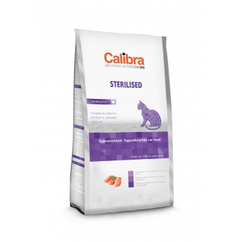 Calibra Cat EN Sterilised Chicken 7 kg imagine