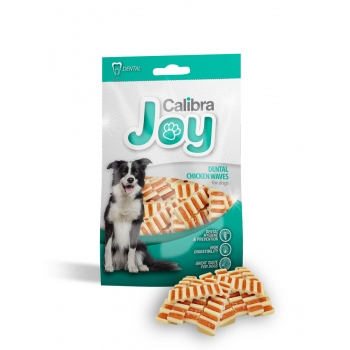 Calibra Joy Dog Snack Dental Chicken Waves, 80 g