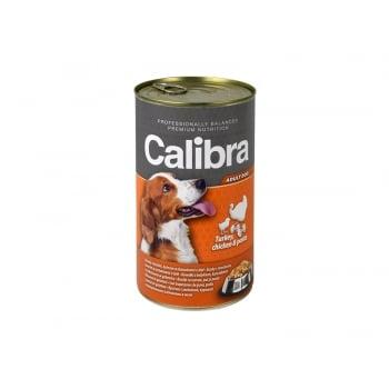 Calibra Dog Conserva Turkey and Chicken and Pasta in Jelly 1240 g