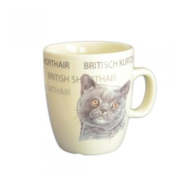 Cana Ceramica Senseo British Shorthair