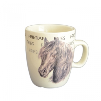 Cana Ceramica Senseo Frisian Horse