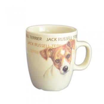 Cana Ceramica Senseo Jack Russel Terrier