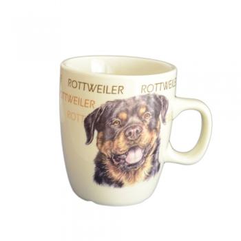 Cana Ceramica Senseo Rottweiler