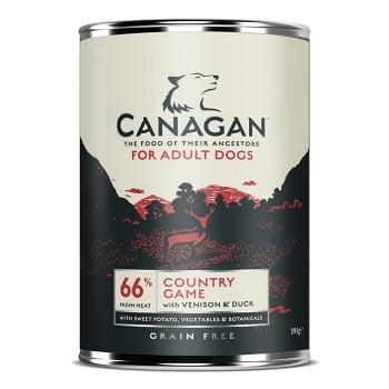 CANAGAN CONSERVA DOG GRAIN FREE VANAT 395 G