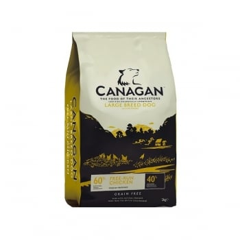 Canagan Dog Grain Free Large Breed Pui, 12 Kg imagine